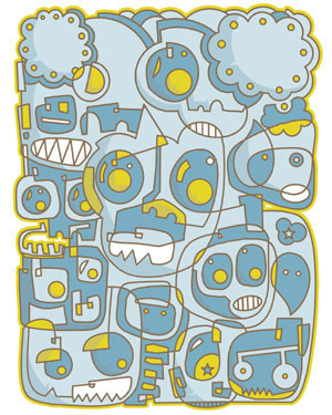 Doodle poster